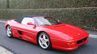 The Good the Bad and the Ugly: 1996 Ferrari F355 Spider