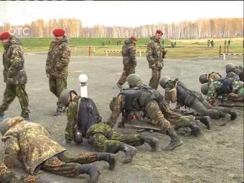 Бойцы новосибирского спецназа прошли испытания на право ношения крапового берета