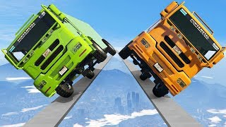 IMPOSSIBLE RACE ON 2 WHEELS! (GTA 5 Funny Moments)
