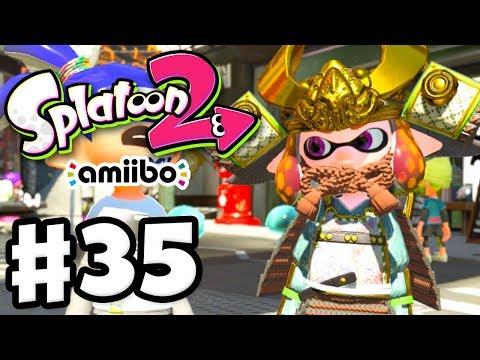 Splatoon 2 - Gameplay Walkthrough Part 35 - Amiibo Samurai Gear! (Nintendo Switch)