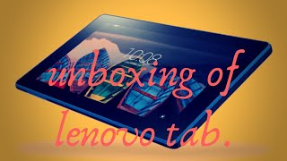 Unboxing of lenovo tab3 7essential.|| unboxing of meritnation super tab lenovo. || by NK .