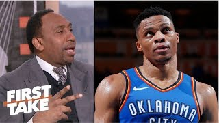Stephen A. to Russell Westbrook: 'Stop taking those shots' | First Take