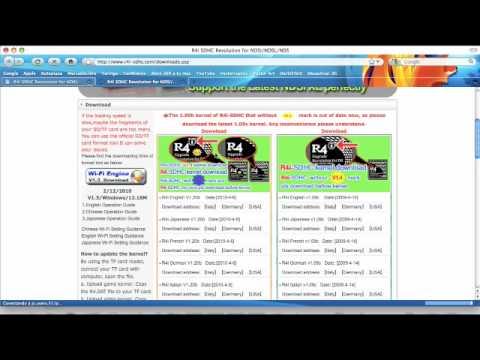 Nintendo DSi - Configuración R4i v1.4