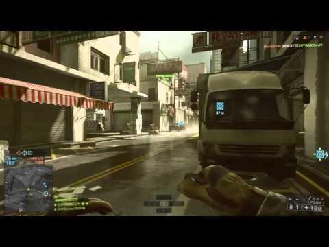 Battlefield 4 - Świr Z Maczetą (cały Mecz Tylko Z Kosą 18 Kilasów :D )