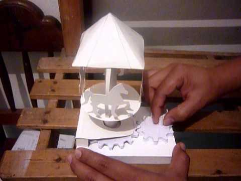 Carrusel de papel youtube - Como hacer un estor enrollable paso a paso ...