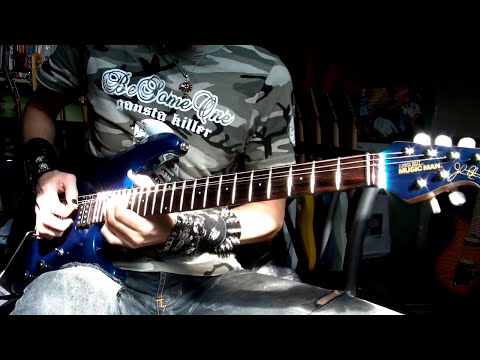 Music Man John Petrucci shred guitar sound test - Neogeofanatic (HD)