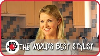 Sarah Hadland, the worlds best stylist? | Red Nose Day 2015