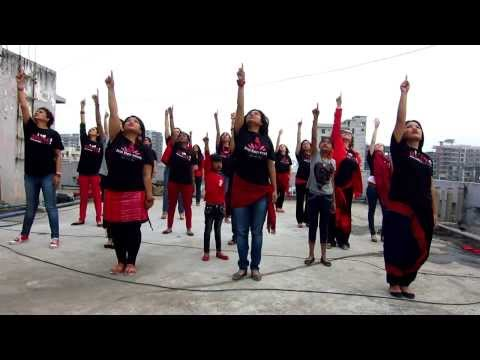 Dhaka flash mob video project