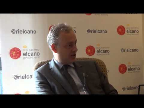 Simon Manley CMG. British Ambassador to Spain
