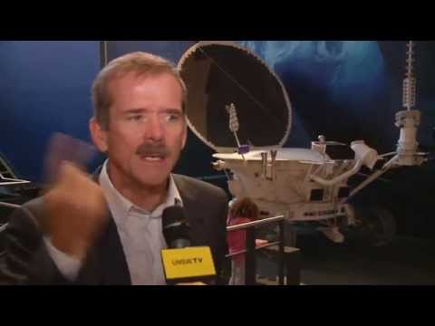Astronaut Chris Hadfield on space oddities