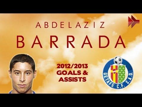 Abdelaziz BARRADA - Goals, Skills, Assists | Getafe | 2012/2013 | HD