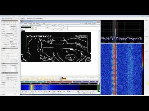 HF Weatherfax with RTL SDR (RTL2832) in Direct Sampling Mode, SDR Sharp and FLDIGI