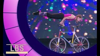Meet German Artistic Cyclist Ceyda | Little Big Shots Aus Season 2 Episode 4