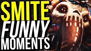 WHY ARE YOU RUNNING? - SMITE FUNNY MOMENTS