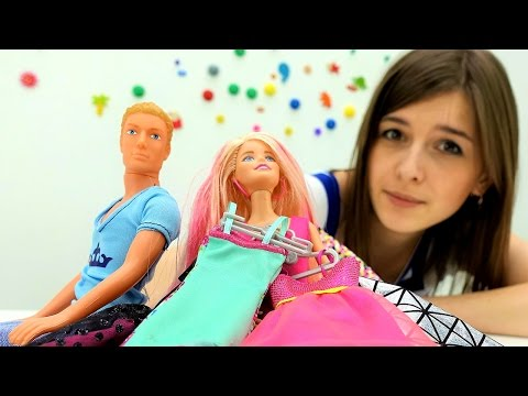 Видео для детей: куклы БАРБИ (barbie). Ищем игрушки (Toy Club). Кен ищет БАРБИ