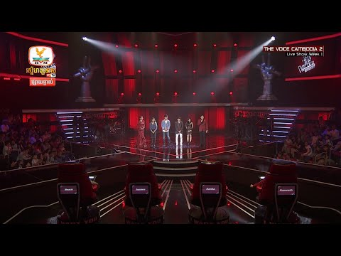 The Voice Cambodia - Result - Live Show 16 May 2016