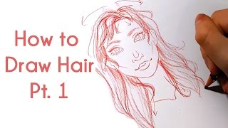 How to Draw Hair Pt. 1 | Art Tutorial Series