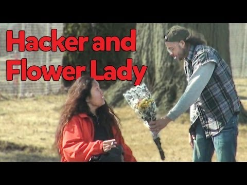Hacker and the Flower Lady