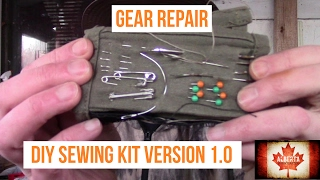 Gear Repair: My DIY Sewing Kit 1.0