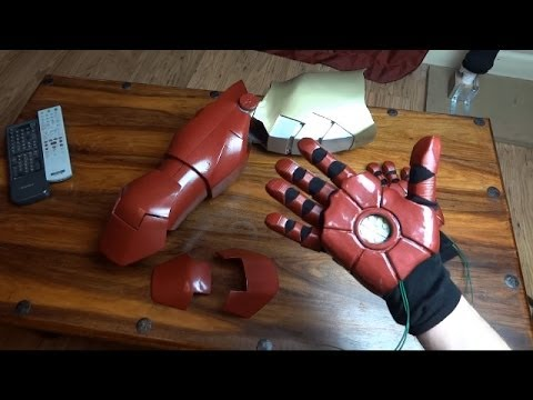 XRobots Vlog #5, Iron Man Cosplay Suit Hands update, Android 12 3D printed parts