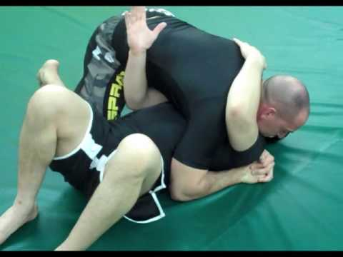 Marco Alvan Brazilian Jiu Jitsu No Gi Escape from side control with transition to Anaconda Choke. Image 1