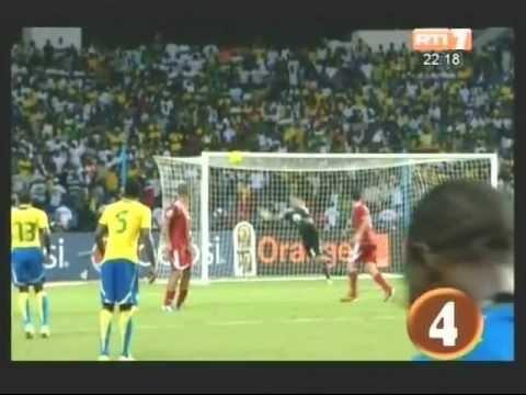 CAN 2012: Le Top des 10 plus beaux buts des matchs de poules - тунис 2012