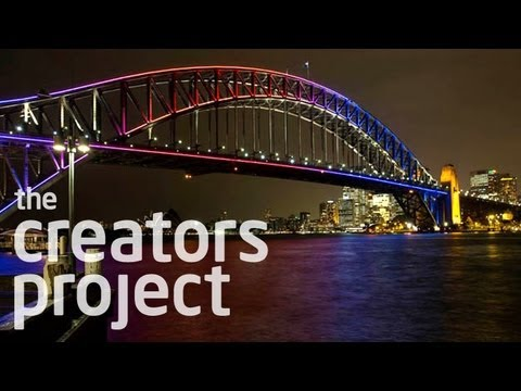 Light Painting The Sydney Harbour Bridge