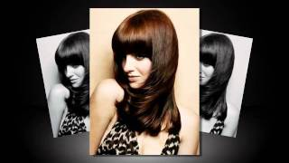 2012  Blunt Bangs Long Hairstyle,