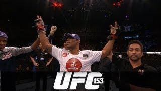 UFC 153: Minotauro Nogueira Post-Fight Interview