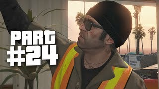 Grand Theft Auto 5 Gameplay Walkthrough Part 24 - The Manifest (GTA 5)