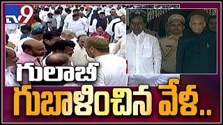 Chintamadaka villagers wish to host lunch for Telangana CM KCR
