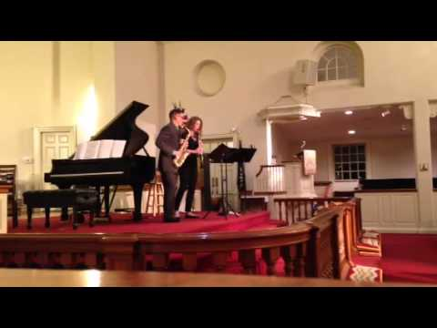 Duo Sonata, 2. Elegy, for Saxophone and Clarinet by Gregory Wanamaker