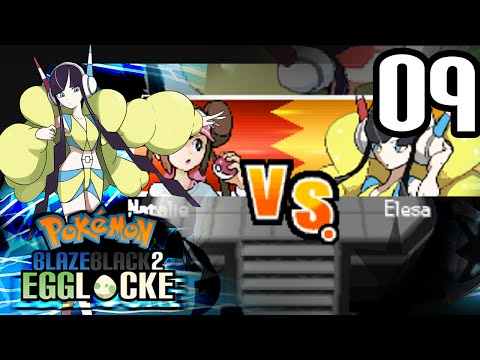 Pokemon Blaze Black 2 Egglocke Part 9-Gym Leader Elesa!