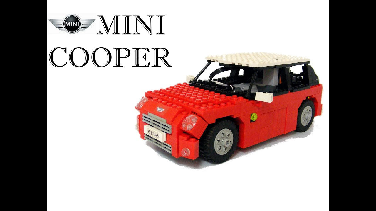 lego mini cooper youtube