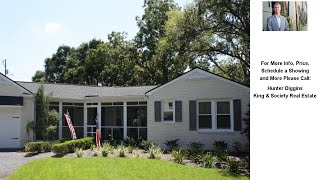 10 William Street, Mount Pleasant, SC Presented by Hunter Diggins.