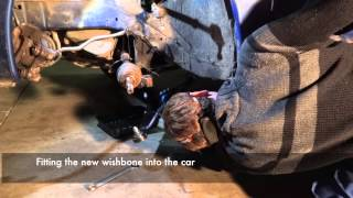 Peugeot 106 Strut, Driveshaft, and Wishbone Replacement