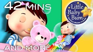 "Bedtime Songs | Lullabies | Nursery Rhymes | 42 Minutes from LBB! ""Shhh...Goodnight!"""