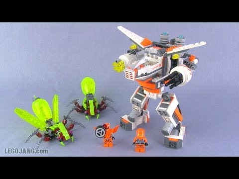 Lego Galaxy Squad Cls-89 Eradicator Mech 70707 Set Review! video