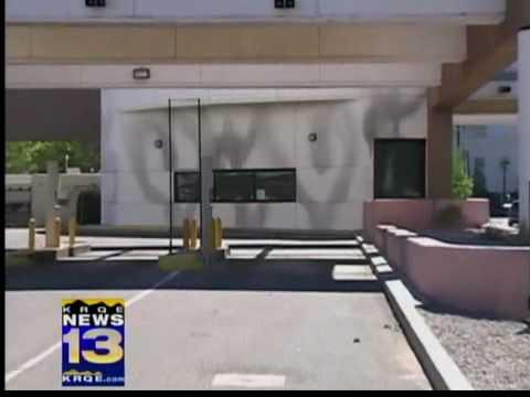 Vandals tag 6 Albuquerque banks