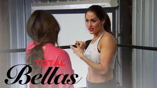 Brie & Nikki Bella Struggle Through Wrestling Practice | Total Bellas | E!