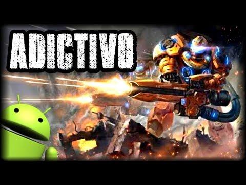 ADICTIVO JUEGO ESPACIAL PARA ANDROID - Space Commander -  Gameplay y Descarga