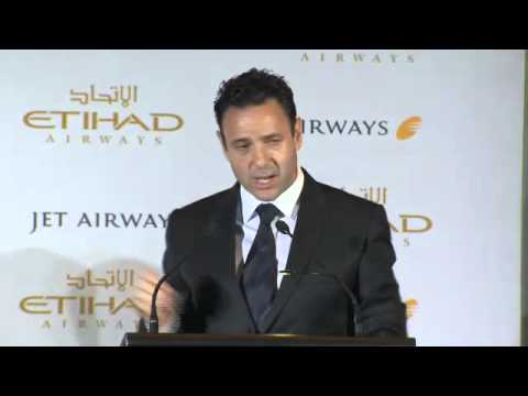 Jet Airways and Etihad Airways Press Conference, Delhi - 23rd July 2014