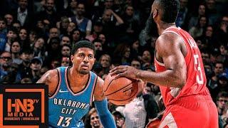 Houston Rockets vs Oklahoma City Thunder Full Game Highlights   11.08.2018, NBA Season