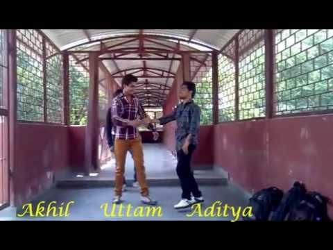 har ek friend kamina hota hai choreographed by Akhil & Aditya...