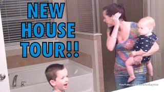Our New House Tour! || LoraAndLayton