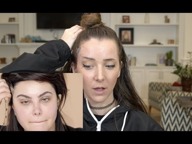 Giving Myself A Tape Face Lift thumbnail