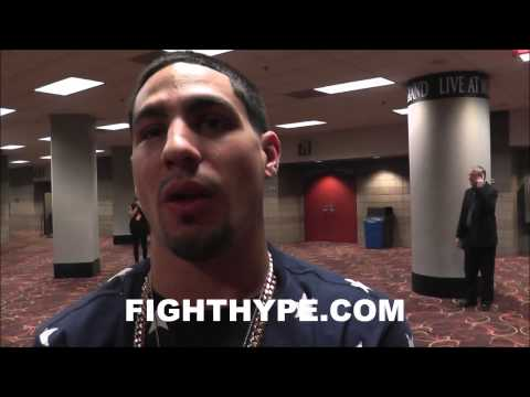 DANNY GARCIA SAYS HE'S READY FOR MOVE TO 147, BUT STILL PLANS TO DEFEND 140 TITLES
