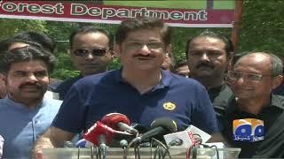 Wazir-e-Aala Sindh Murad Ali Shah ki karachi main media se guftugu