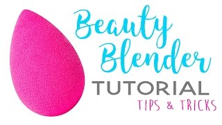 How to Use a Beauty Blender | Full Face Makeup Routine Tutorial