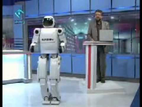 Iran s Humanoid Robot Surena 2 Demonstrated on TV